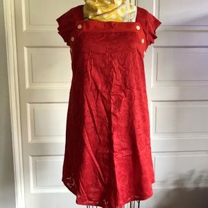 MARC JACOBS RED VALENTINES DRESS